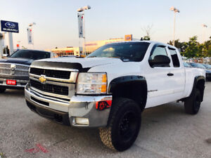 2008 CHEVROELT SILVERADO 2500 HD 6.6L DURAMAX DIESEL 4X4 LIFTED
