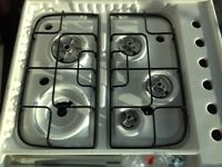 Indesit black gas Hob