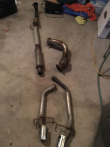 SAAB exhaust components (full exhaust)