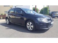 """2013 VOLKSWAGEN GOLF, MK 7, DIESEL, BLACK, 1 OWNER FROM NEW, 102.000 MILES WITH FULL MAIN DEALER"