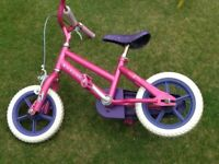Girls bike age 2-4