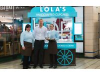 (HIGH STREET KENSINGTON) LOLA'S CUPCAKES - part time - Join our team for a great career !