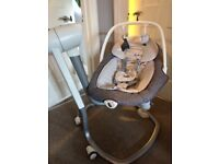 Joie and Serina 2 in 1 swing and rocker