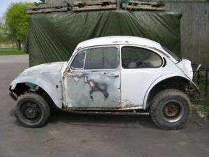 VW Beetle Project Baja