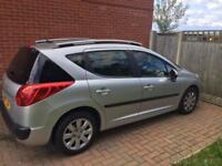 Peugeot 207sw,1.4 sport petrol