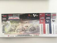Adult and U16 Child MotoGP Silverstone Tickets Sunday 27th August