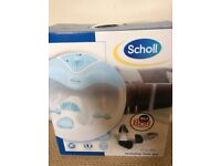 Scholl Revitalise Foot Spa. Perfect Condition boxed.
