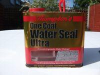 Water Seal Ultra Sealant