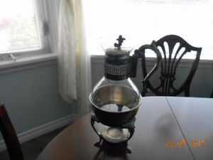Carafe & Warming Plate Stand & More