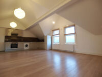 An amazing & bright 2 double bedroom lofted appartment seconds from Stamford Hill over-ground