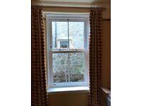 Double glazed upvc sash and case window