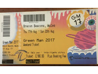 1 x Green Man Festival Ticket (Adult)