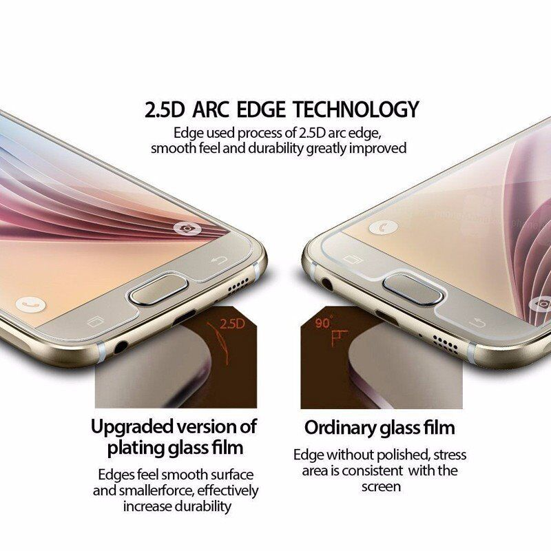 100%GenuineTEMPERED GLASS Samsung Galaxy S7 100% Genuine HARD GLASS,HD, SMOOTH