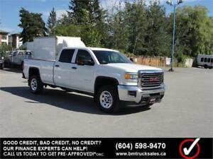 2015 GMC SIERRA 3500HD CREW CAB LONG BOX 4X4 1 TON ONLY 43000KM