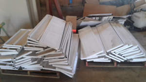 Metal shelves for sale 4 feet long 1 feet wide  $50 takes all