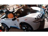 Electric ride on BMW i8 concept 12 volt