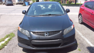 Honda Civic lx coupe 2012