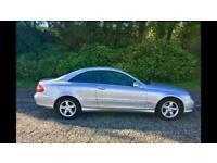 Mecedes CLK 200K 1.8 AVANTGARDE TIP AUTOMATIC, Full Service History, Leather Interior