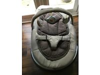 Nuna LEAF curv baby seat incl. toy bar - superb condition
