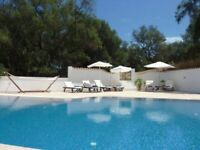 LATE DEAL: Holiday Villa with Pool, Corfu, GREECE. £850 for 7 NIGHTS MON 25th SEPT - MON 2nd OCT!!!