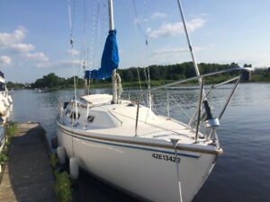1985 CATALINA 25 PRICED FOR QUICK SALE