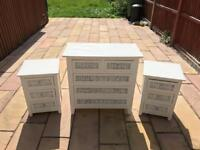 Wooden Bedroom Drawers Set