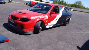 Mazdaspeed protege , course, lapping, time attack, solo, slalom.
