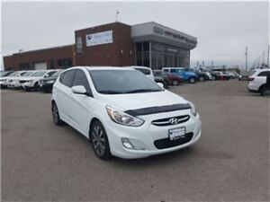 2015 Hyundai Accent SE Sunroof, Aluminum Wheels, Only 34, 000 KM