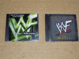 WWF, WORLD WRESTLING FEDERATION, THE MUSIC VOLUME 3 & 4, CD