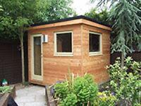 insulated garden buildings