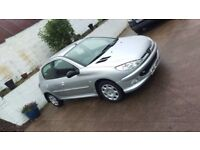 2005 Peugeot 206 1.4 HDI FULL YEARS MOT 2 KEYS ONLY 76K MILES (not clio 106 corsa mazda polo ibiza )