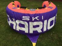 Ski chariot towable inflatable water toy watersports boat jet ski fun