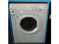 N112 white hotpoint 5kg&5kg 1400spin washer dryer comes with warranty can be delivered or collected