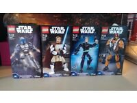 lego star wars buildable figures bundle DISCONTINUED SETS 75107 75109 75110 75115