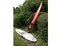 Fanatic Gecko 298 Windsurfer with bag
