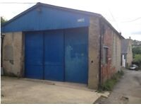 Workshop/Storage etc. Farrs Lane, Off Nelson Street (with Toilet and Shared Carpark)