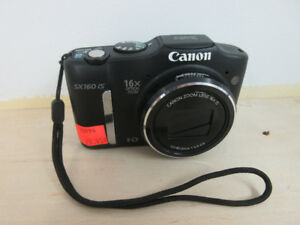 **POWERSHOT** Canon SX160 IS Digital Camera 16MP 16x Zoom