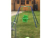 Sports power toddler swing age 1-3