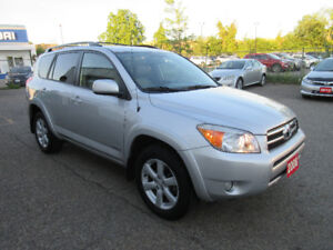 2008 Toyota RAV4V6-CLEAN CAR!LTD!SUNROOF,LEATHER,WARRANTY!$11495