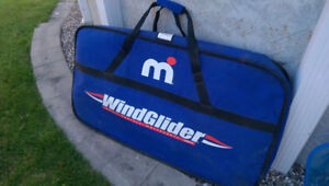 Inflatable Windglider in a portable bag