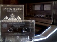 MINISTRY OF SOUND & TONY HUMPHRIES - THE SESSIONS VOLUME ONE PRERECORDED CASSETTE TAPE now rare find