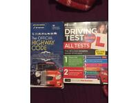 Theory test DVD and official high way code book