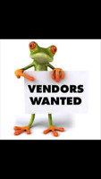 Vendors wanted Sept 10