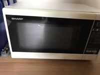 Microwave, used but working