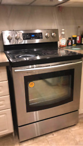 Samsung self clean electric range -NEED IT GONE, MAKE YOUR OFFER