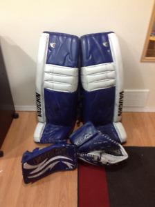 Vaughn Goalie gear