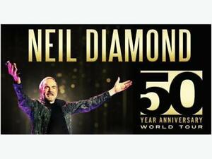 *3 Floor Seats Together for Neil Diamond 50th Anniversary Tour