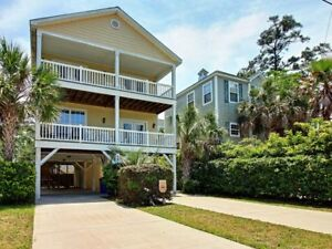 4 Shrimp and a Crab – Beautiful Beach Home Convenient to Beach a