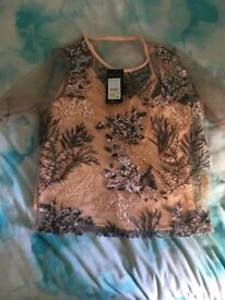 Newlook top size 12 never worn