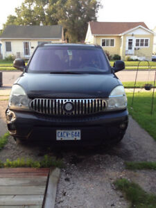 2005 Buick Rendezvous grey SUV, Crossover